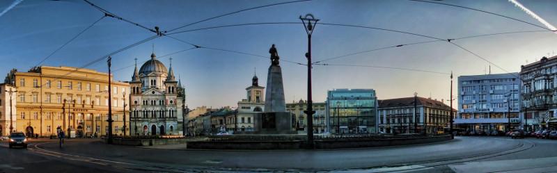 Krajobraz Placu Wolności od strony ulicy Nowomiejskiej, fot. Jarosław Klamka