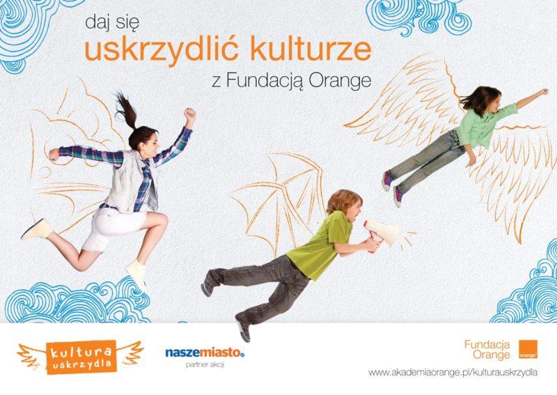 Kultura uskrzydla - plakat akcji
