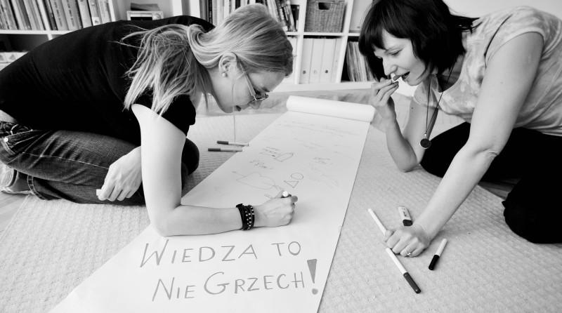 Anna Jurek i Aleksandra Dulas foto Joanna Tarnowska
