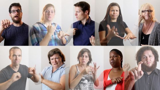 Language Development In Deaf Children S Interactions With Deaf And Hearing Adults