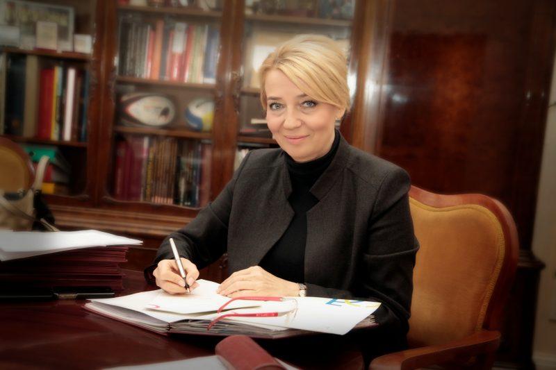 Hanna Zdanowska. Fot. z archiwum Urzędu Miasta Łódź