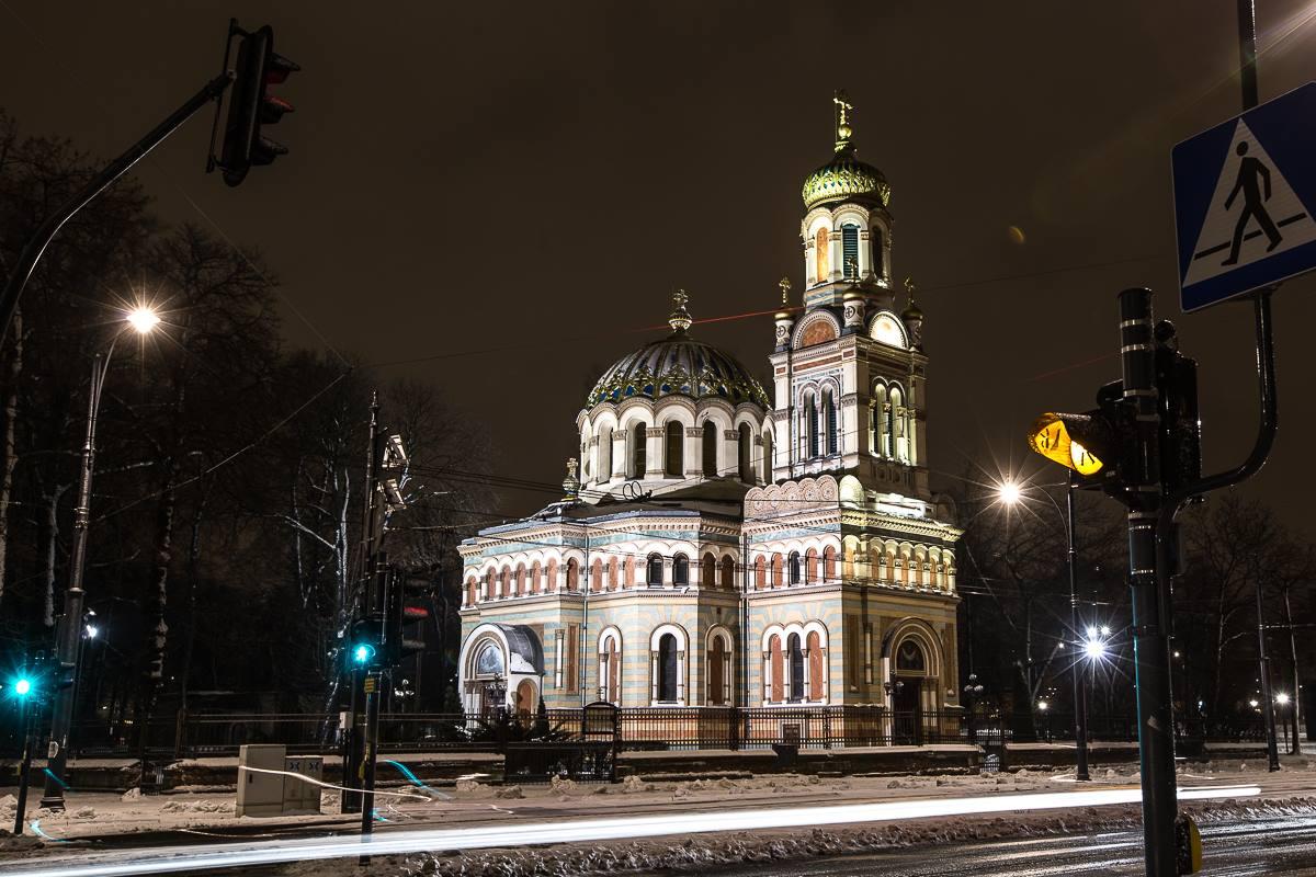 Katedralna Cerkiew Św. Aleksandra Newskiego w Łodzi. Fot. Łukasz Klimczak