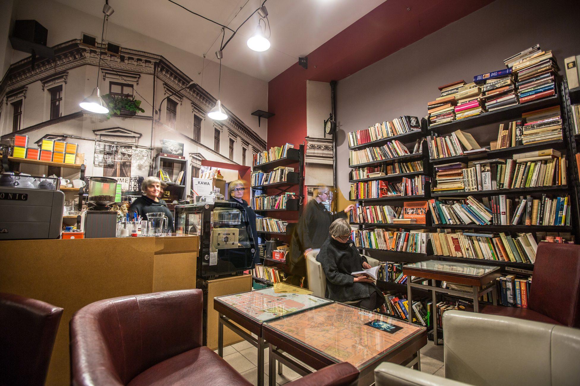 Kawiarnio-księgarnia Cafe Litera. Fot. Łukasz Klimczak